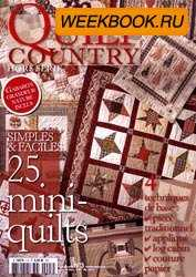 Quilt Country Hors Serie 25 mini quilts № 3, 2009