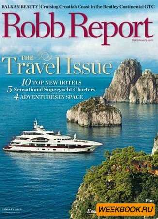 Robb Report - January 2012
