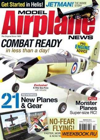 Model Airplane News - March 2012
