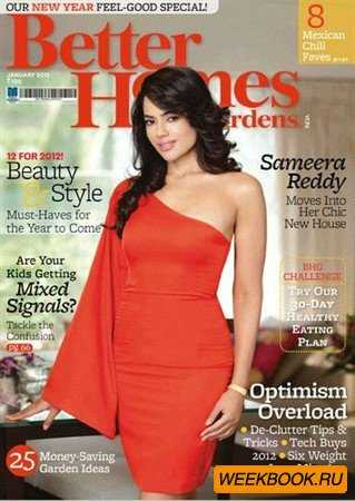 Better Homes and Gardens - January 2012 (India)