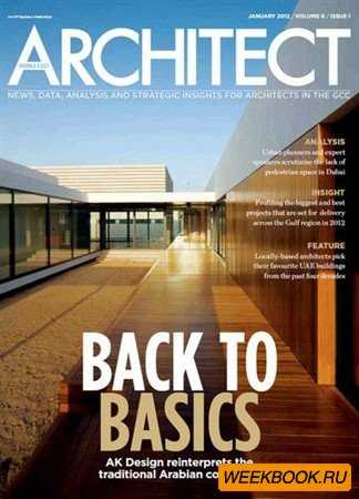 Middle East Architect - January 2012