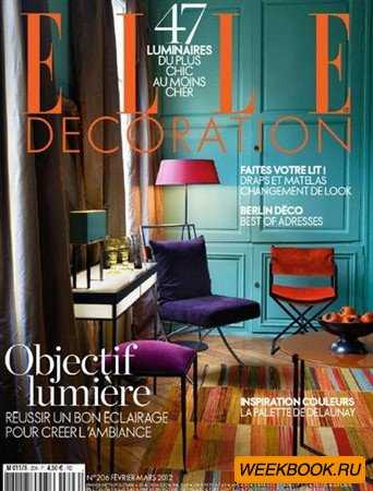 Elle Decoration - Fevrier/Mars 2012 (France)