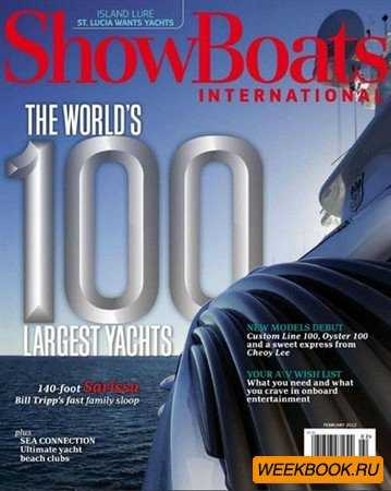 ShowBoats International - February 2012