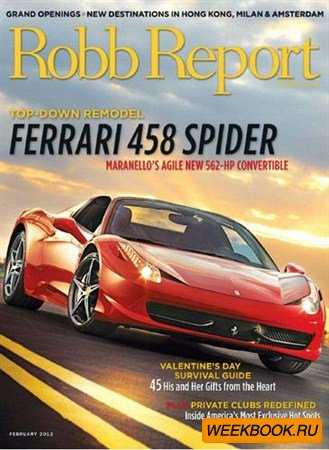 Robb Report - February 2012