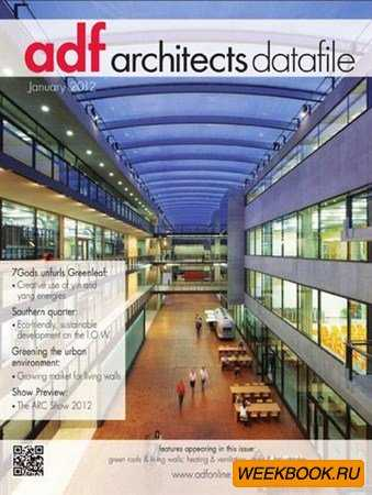 Architects Datafile - January 2012