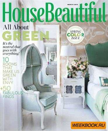 House Beautiful - March 2012 (US)