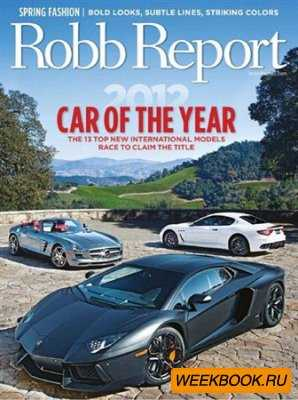 Robb Report - March 2012