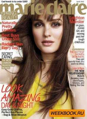 Marie Claire - April 2012 (US)