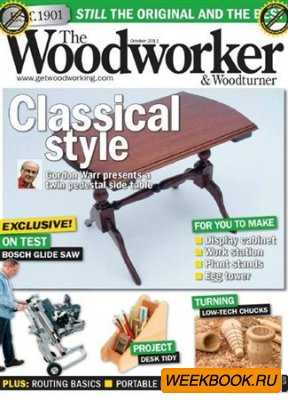 The Woodworker & Woodturner - October 2011