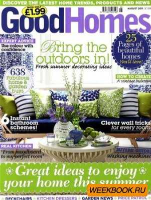 GoodHomes - August 2011 (UK)