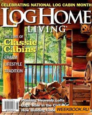 Log Home Living - July/August 2012