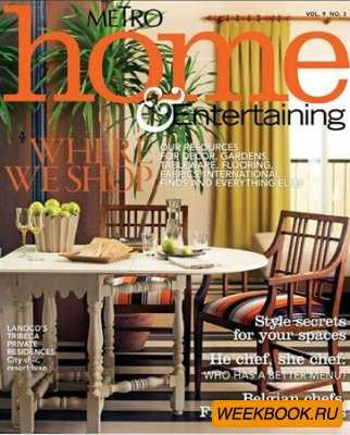 Metro Home & Entertaining - Vol.9 No.3