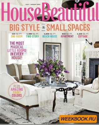House Beautiful - July/August 2012 (US)