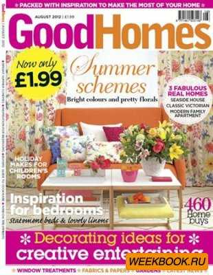 GoodHomes - August 2012 (UK)