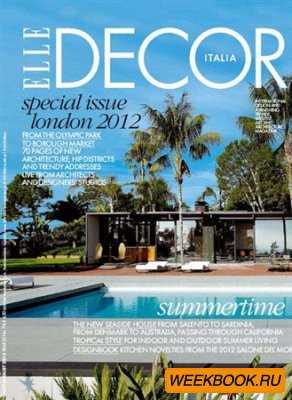 Elle Decor - July/August 2012 (Italia)