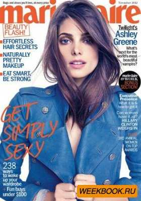 Marie Claire – November 2012 (US)