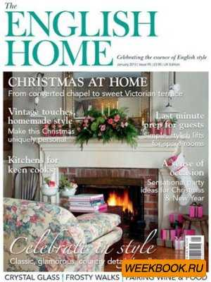 The English Home - January 2013