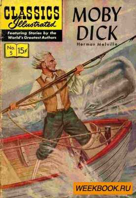 Classics illustrated - Moby Dick
