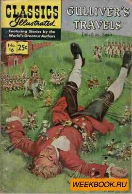 Classics illustrated - Gulliver's Travels.