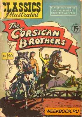 Classics illustrated - The Corsican Brothers.