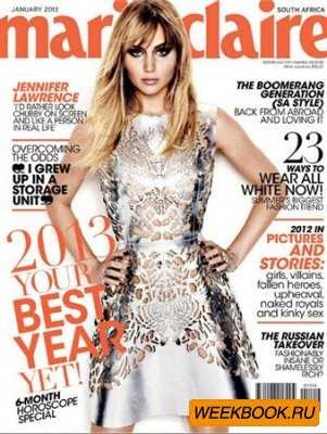Marie Claire - January 2013 (South Africa)
