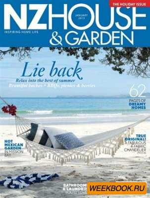 NZ House & Garden - January 2013