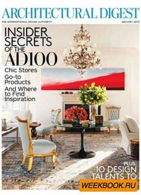 Architectural Digest - January 2013 (US)