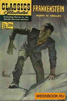 Classics illustrated - Frankenstein