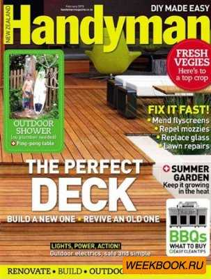 Handyman - February 2013 (New Zealand)