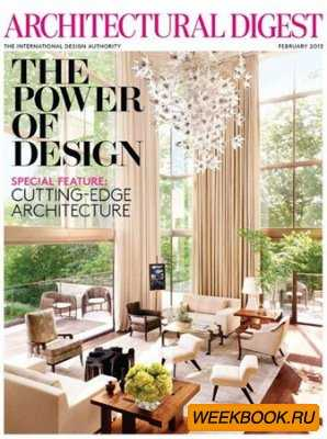 Architectural Digest - February 2013 (US)