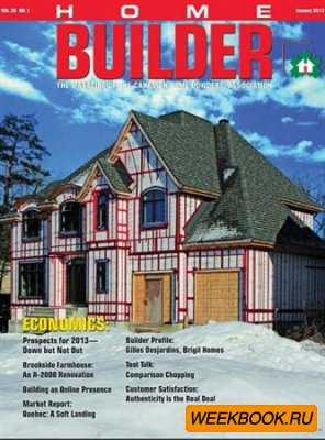 Home Builder - January/February 2013 (Canada)