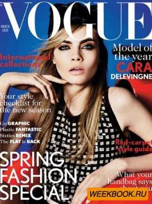 Vogue - March 2013 (UK)