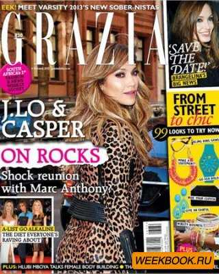 Grazia - 6 Febraury 2013 (South Africa)