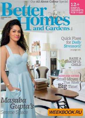 Better Homes and Gardens - February 2013 (India)