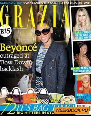 Grazia - 03 April 2013 (South Africa)