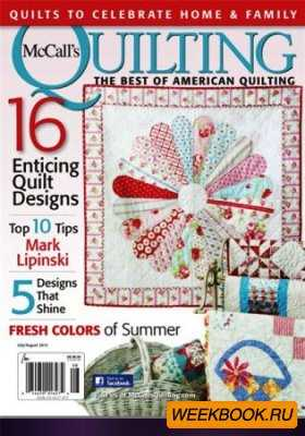 McCalls Quilting №4, Vol. 22 2015