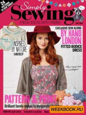 Simply Sewing №12 2015