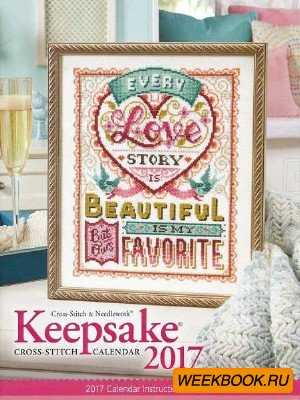 Keepsake Cross Stitch - Calendar 2017