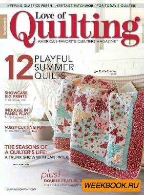 Love of Quilting Vol.23 №135 2018